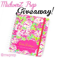 Midwest Prep | Lilly Giveaway! | http://midwest-prep.com @Lilly Pulitzer