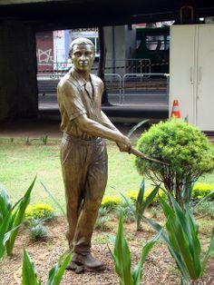Estátua na Praça Marechal Deodoro, São Paulo