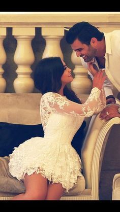 long sleeve white lace short wedding dresses,bride dress short 2014