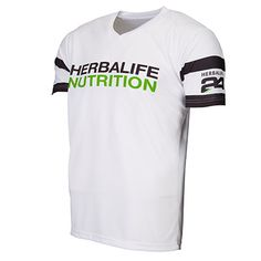 wearing the same shirt of Cristiano Ronaldo  white t shirt Herbalife Nutrion  just for a few days ! Size: large