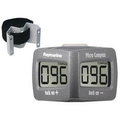 Raymarine Wireless Micro Compass System w/Strap Bracket - https://www.boatpartsforless.com/shop/raymarine-wireless-micro-compass-system-wstrap-bracket/
