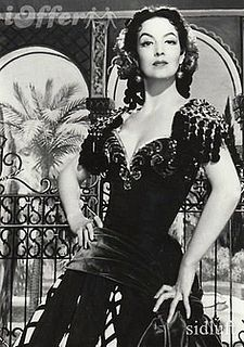 María Félix (8 April 1914 – 8 April 2002) was a Mexican actress, considered by many to be the most iconic leading lady of the Golden Age of Mexican cinema, known for her larger-than-life, tough film characters.