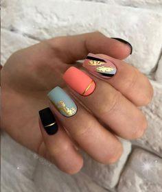 Classy Nails, Fancy Nails, Stylish Nails, Pink Nails, Pastel Nails, Perfect Nails, Gorgeous Nails, Pretty Nails, Nail Manicure