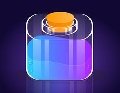 "Check out new work on my @Behance portfolio: ""Alchemy Bottle - App Icon"" http://be.net/gallery/52641559/Alchemy-Bottle-App-Icon"