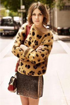 Alexa Chung. Print-matalic | Women's Look | ASOS Fashion Finder
