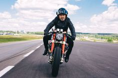 Sacha Lakic y su Honda CX500 Cafe Racer #motorcycles #caferacer #motos | caferacerpasion.com