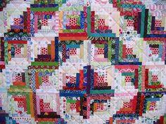 Log Cabin Quilt Pattern. | Tom