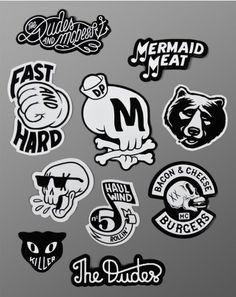 The Dudes – Mcbess – Sticker Set