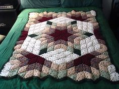 crochet quilt blanket