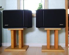 diy wood speaker stands - Google Search