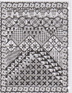 Zentangle #3 - art - My Creation