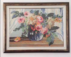 Çiçekler // Flowers Painting, Art, Art Background, Painting Art, Paintings, Kunst, Drawings, Art Education