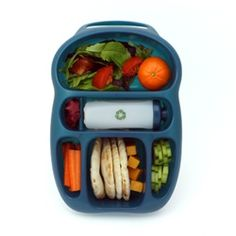cool little lunchbox...also comes with sticker sheets to decorate in their own little style