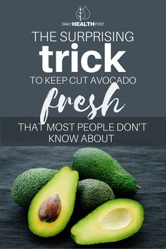 Although it has a multiple of uses, the only downside of the fruit is that it tends to get mushy, brown, and unappealing shortly after being cut.� So how do you keep avocados fresh?