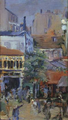 Painting the Town - Édouard Manet. Professional Artist is the foremost business magazine for visual artists. Visit ProfessionalArtistMag.com.