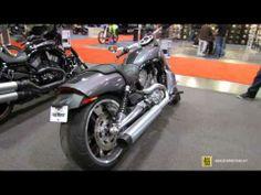 ▶ 2014 Harley-Davidson VRSC V-Rod Muscle Walkaround - 2014 Toronto Motorcyle Show - YouTube