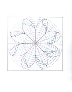Another great design using the circle Ultimate Stencil. Quilting Stitch Patterns, Machine Quilting Designs, Paper Piecing Patterns, Quilt Stitching, Quilt Block Patterns, Art Patterns, Quilting Stencils, Quilting Templates, Longarm Quilting