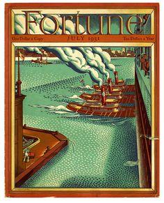 1931 - Cover by Ernest Hamlin Baker.