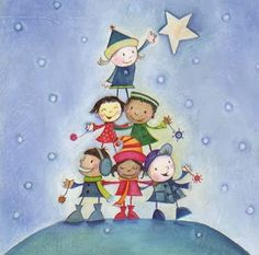 Pinzellades al món: Nadal-arbre