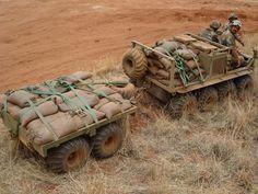 Argo ATV with trailer #military