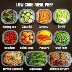 Choose one day a week to spend a few hours in the kitchen. Prep enough food for the entire week. This saves a ton of time throughout the week plus you have healthy meals available quickly. My favorite is MEAL PREP SUNDAY. Healthy Meal Prep, Healthy Fats, Healthy Snacks, Healthy Eating, Healthy Weight, Healthy Life, Low Carb Recipes, Diet Recipes, Healthy Recipes