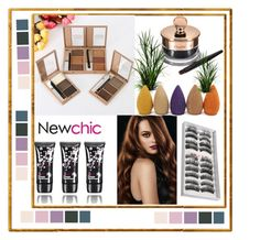 """""""Newchic 6"""" by crvenamalina ❤ liked on Polyvore featuring beauty"""