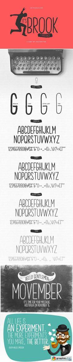 Brook Font