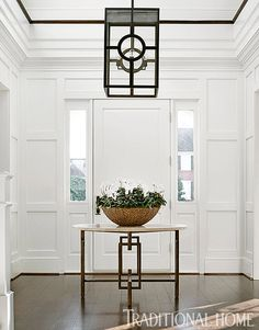 traditional foyer wi