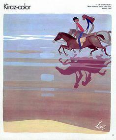 """Edmond Kiraz 1978 Les Parisiennes """"  Je suis furieuse on cheval a perdu cinq kilos et moi rien ! """""""