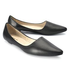 All Black Sleek :: Flats :: Women's Shoes :: Imelda's Shoes and Louie's Shoes for Men