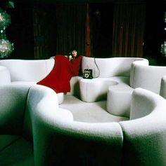 Verner Panton - Kleeblatt-sofa - Frankfurt -1971