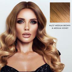 Golden Hair Color, Honey Brown Hair Color, Dark Golden Blonde, Golden Brown Hair, Hair Color Caramel, White Blonde, Light Blonde, Blonde Ombre, Blonde Balayage