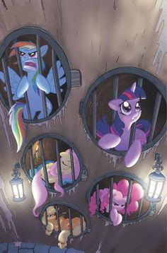 I just loved this mlp comic where rarity turned to nightmare rarity!