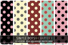 Check out Simple Dots - Chapter 1 by Digital Art Creations on Creative Market