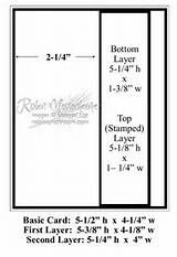 card sketches with measurements - Yahoo Image Search Results
