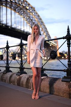 an outfit for dinner during summer evenings. #streetstyle #fashion