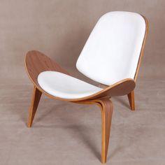 Fotel/krzesło Fold Furniture Companies, Modern Chairs, Mid-century Modern, Shells, Dining Chairs, Mid Century, Interior Design, Villa, Flower