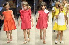 Las nuevas colecciones infantiles pintan una primavera-verano en colores sorbete