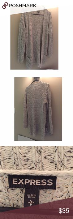 Express Cardigan Excellent condition! New Fall 2015 Express Sweaters Cardigans