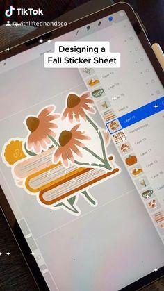 Making Stickers, How To Make Stickers, Cute Stickers, Sticker Shop, Sticker Design, Digital Art Beginner, Bff Drawings, Ipad Art, Sticker Ideas