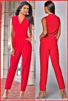 Swans Style is the top online fashion store for women. Shop sexy club dresses, jeans, shoes, bodysuits, skirts and more. Red Fashion, Cute Fashion, Fashion Outfits, Womens Fashion, Dress Outfits, Cute Outfits, Dresses, Jumpsuit Pattern, Summer Work Outfits