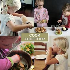 Do your kids like to cook? Cooking Together: 20 Simple Recipes for Kids to Make  @Spoonful