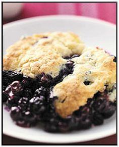 Gluten Free Blueberry Cobbler http://www.ibssanoplus.com/low_fodmap_blueberry_cobbler.html