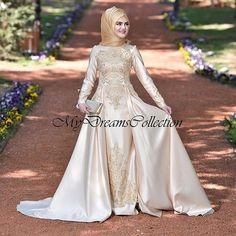 Bridal Hijab, Wedding Hijab, Hijab Niqab, Like4like, Victorian, Gowns, Seasons, Instagram, Muslim