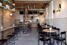 Preach Cafe by De Simone Design Sydney Australia