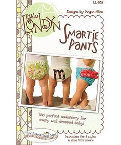 Little Londyn Smartie Pants Sewing Pattern LL803 by Two Sisters at Squirrel Hollow (COPY)