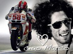 Photo of <3 Marco Simoncelli for fans of Valentino Rossi. The late Marco Simoncelli is remembered one year on from his tragic accident at the Malaysian Grand Prix. Ciao SuperSic, you will be always with us! Race in peace... <3