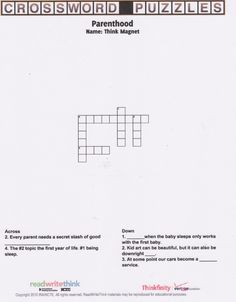 how to make your own crossword puzzle online for free