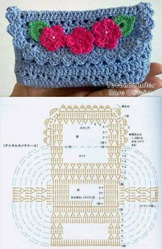 DIY Crochet Purse DIY Projects | UsefulDIY.com Follow Us on Facebook --> https://www.facebook.com/UsefulDiy