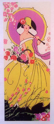 artdeco.quenalbertini: Vintage Deco Card Tally | by peagreengirl on Flickr
